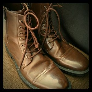 Unlisted Men's Brown Ankle Boots